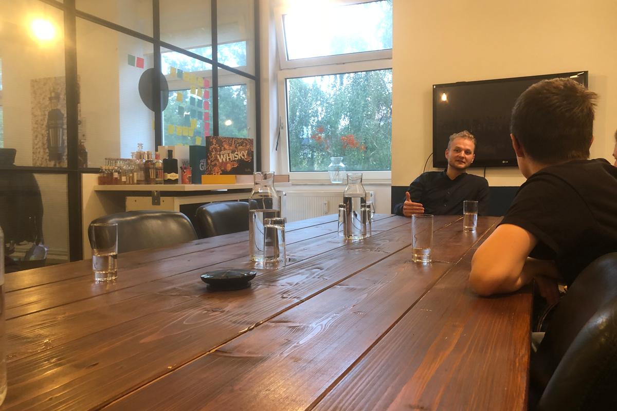 Vorschaubild des Events Boardroom Meeting bei der Tastillery